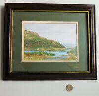 Picture Pat Walsh Ladies' View Killarney signed framed print Irish landscape