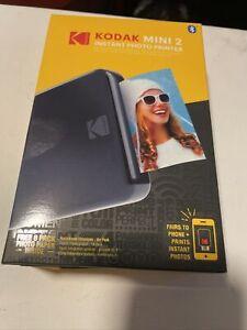 Kodak Mini 2 HD Wireless Portable Mobile Instant Photo Printer Black KOD-MP2B