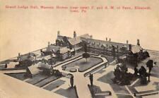 Grand Lodge Hall Masonic Homes Elizabethtown Pennsylvania Postcard (c. 1910)