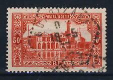 "ALGÉRIE 1937 CAD hexagone pointillé "" OUARIZANE / ORAN "" sur N°112"