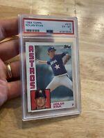 Nolan Ryan PSA 6 Ex 1984 Topps #470 Astros Card INVEST NR Major League Baseball