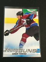 F60283  2019-20 Upper Deck #203 Conor Timmins YG RC Avalanche Young Guns