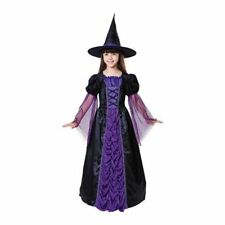 FORUM SPIDER WITCH GIRLS COSTUME Halloween Cosplay Fancy Dress G12