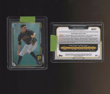 2015 Bowman Chrome Prospects Black Asia Refractors #BCP127 Luis Heredia