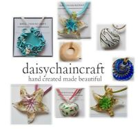 Cool Glass Jewellery Handmade Pendant Necklace Collection by daisychaincraft