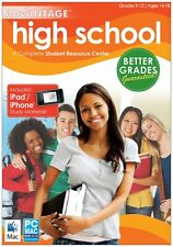High School Advantage 2012 (for PC, Mac) *New,Sealed*