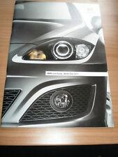 Seat Leon range brochure 2012