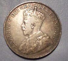 CANADA COIN 50  CENTS 1912  VF