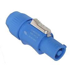 ProX Xc-Pwc-Blue Blue PowerCon Male Connector