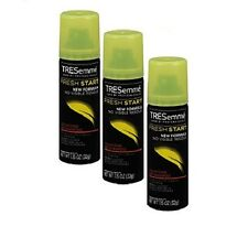 TRESemmé Fresh Start Volimizing Dry Shampoo 1.15 oz Travel Size Pack of 3