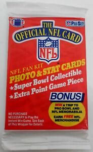 1989 NFL Football Pro Set Wax Pack Sealed