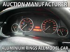 Peugeot 406 1995-1999 Anelli Alluminio Strumenti Strumentazione 4 pezzi