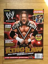 Triple H  WWE Magazine August 2012 Vintage