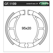 Rear Brake Shoes Fit YAMAHA TY80-J 1976 1977 1978 S4S