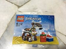LEGO Creator Christmas Reindeer + Greeting Card 30474 New MISB