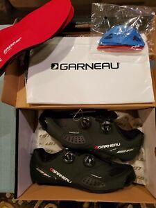 Louis Garneau Course Air Lite II 43 US 9.75 Cycling Shoes Black NEW