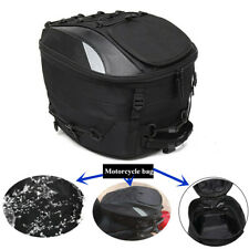 Waterproof Oxford Cloth Motorcycle Tail Tote Bag Rear Seat Bag Rider Backpack