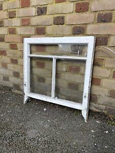 Reclaimed Old Victorian Edwardian Wooden 3 Panel Sash Window