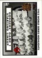2002 Topps Baseball Insert/Parallel Singles (Pick Your Cards)