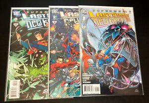 SUPERMAN Last Stand of New Krypton (2010 DC Comics) -- #1 2 3 -- FULL Series