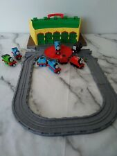 Thomas The Tank Engine & Friends - Take n Play Tidmouth Sheds + 6 Trains