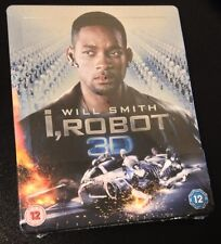 I ROBOT 3D Blu-Ray SteelBook Zavvi UK Exclusive Limited Edition Region Free Rare