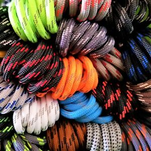 Fabmania Round Shoe Hiking Boot Laces - 50+ patterned designs - Length 140cm