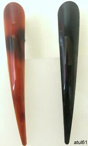 LARGE BLACK BROWN CONCORDE HAIR GRIP ALIGATOR CROCODILE BEAK CLIP CLIPS NEW