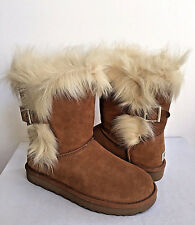 UGG CLASSIC SHORT DEENA CHESTNUT TOSCANA CUFF BOOT US 9 / EU 40 / UK 7.5 NIB