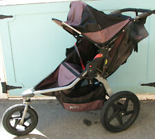 Bob Revolution Se Black Single Baby/Toddler Jogging All-Terrain Folding Stroller