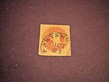 US Stamp Postal Cut Scott# U2 Washington 1853-55  C174