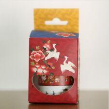 Korean Traditional Masking Tape Set (15mm/7m X 3 Colors) Korea Washi Cute Tape