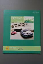 UK Sales Brochure Renault Megane Oasis Special Edition