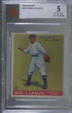 1933 Goudey Big League Chewing Gum R319 Ossie Bluege #159 BVG 5 Rookie