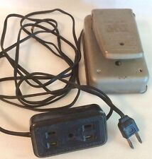 Vintage Tennglad-Ad-In Sewing Machine Foot Pedal S. No.1300 Knee & S. 1500 Foot