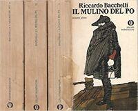 Il Mulino Del Po. 3 Volumi,Riccardo Bacchelli  ,Arnoldo Mondadori Editore,0