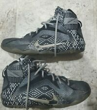 Nike Lebron 12 Xii Bhm Black History Month Shoes Size 7Y 726217-001 Sweet!