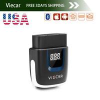 US Viecar ELM327 V2.2 ODB2 Bluetooth 4.0 Auto Code Reader Diagnostic Scanner