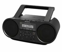 Sony ZS-RS60BT MEGA BASS CD Boombox with Bluetooth and NFC