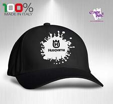 Cappello Berretto Hat Cappellino Houston 5 pannelli NERO - HUSQVARNA 2
