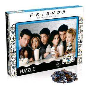 Friends TV Show Milkshake Jigsaw Puzzle 1000 Piece - Licensed **FREE DELIVERY