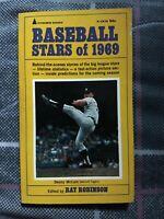 Baseball Stars Of 1969 Paperback Book