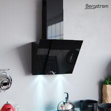 BERGSTROEM BJOERN Dunstabzugshaube Glas LED Wandhaube Schräghaube kopffrei 60 cm