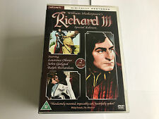 Richard III (Special Edition)  DVD 2 DISCS - MINT CONDITION