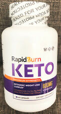 RAPID BURN KETO - BHB KETONES, BURN FAT, LOSE WEIGHT, KETOGENIC WEIGHT LOSS