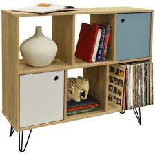 Open Sideboard Shelving / LP Vinyl Storage - Oak OF9717