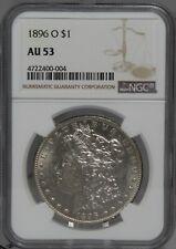 1896-O $1 Morgan NGC AU53