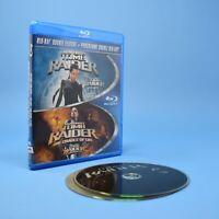 Tomb Raider Double Feature Blu-Ray - 1 + The Cradle Of Life Lara Croft BILINGUAL