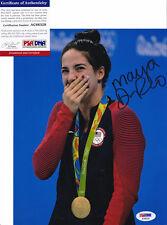 Maya DiRado Olympics Signed Autograph 8x10 Photo PSA/DNA COA