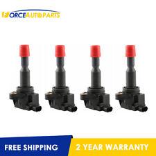 For 2002 - 2008 Honda Jazz II GD L15A Set(4) Ignition Coils 1.5L CM11-110 oem